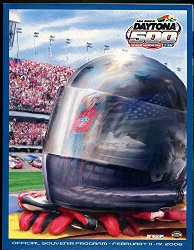 Fan Apparel & Souvenirs 2006 Nascar Daytona 500 Official Program In Plastic Sleeve Sports Mem, Cards & Fan Shop
