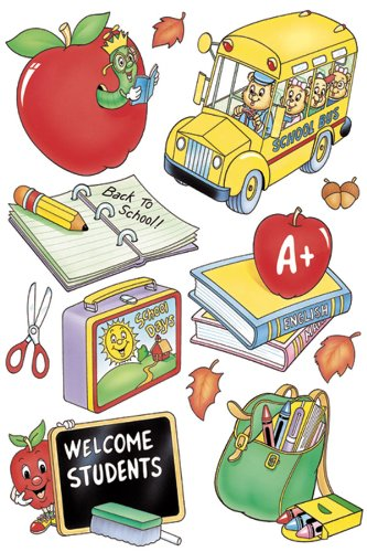 Eureka 836310 Welcome Students Clings