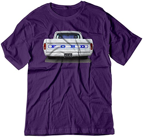 Rpm Rod (BSW Men's Nice Ass Ford Truck Classic Car Muscle Hot Rod Shirt MED Purple)
