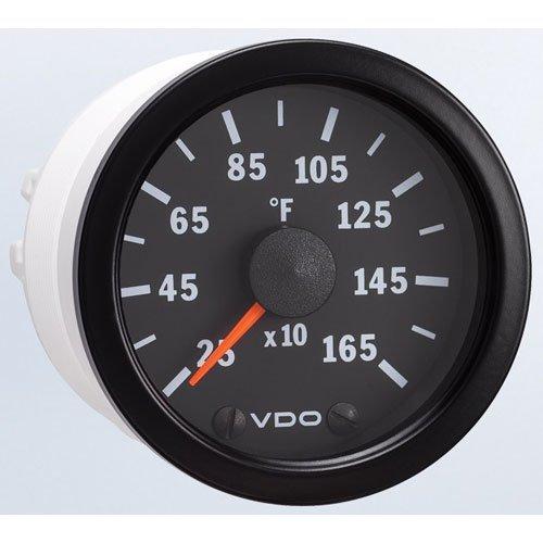 VDO 310153 Vision Style Electrical Pyrometer Gauge Kit 2 1/16