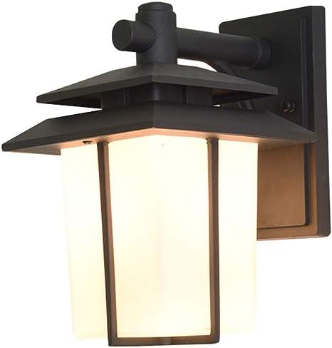 Linterna de pared Exterior Vintage lámpara de pared jardín ...