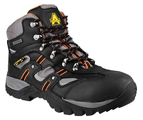 Amblers-Safety FS193 Stiefel Unisex Herren Damen Damen Stiefel Stahlkappe New Black