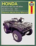 Honda ATVs Foreman and Rubicon '95 to '11 (Haynes Service & Repair Manual)