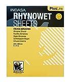 Indasa Rhynowet Plus Line Sandpaper Wet / Dry 9''x 11'' 1500 Grit 50 Sheets