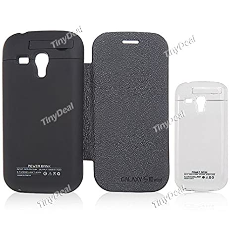 7e81e82c14e Image Unavailable. Image not available for. Colour: 2000mAh Flip Battery  Case Portable Power Pack Charger for Samsung Galaxy S III Mini I8190 MBT