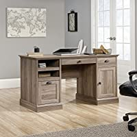 Sauder Barrister Lane Executive Desk in Salt Oak