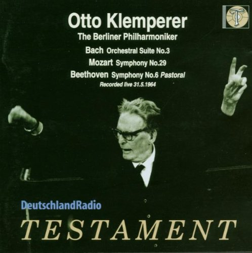 Otto Klemperer Live With Berlin Philharmonic by Testament UK