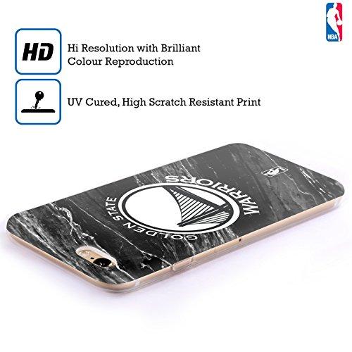 Officiel NBA B&W Marbre Golden State Warriors Étui Coque en Gel molle pour Apple iPhone 6 / 6s