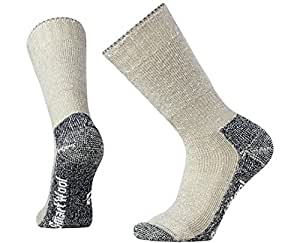 Smartwool Men's Mountaineering Extra Heavy Crew Socks (Taupe) Small
