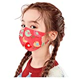 Kids Face Covering, Reusable with Adjustable Ear