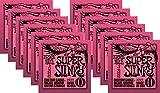 Ernie Ball 2223 Nickel Super Slinky Guitar Strings - Buy 10, Get 2 Free
