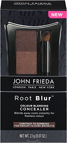 John Frieda Root Blur Colour Blending Concealer Chestnut To Espresso Brunettes, 2.1 Gram
