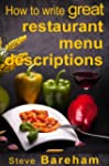 How to write great restaurant menu de...