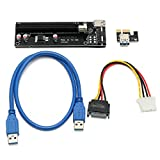 QOJA 0.6m usb 3.0 pci-e express 1x to 16x extender riser card adapter