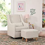 Babyletto Toco Upholstered Swivel Glider and