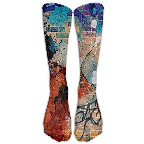 He Man Outfit (Girls Boy's Colorful Vertical Strip Graffiti-01 Printing Boot Socks 3D Socks Knee High Socks Compression Socks Sport Socks Unisex)