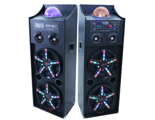patron-audio-pro-pls-4000pkg-dual-10-inch-speakers-with-flashing-lights