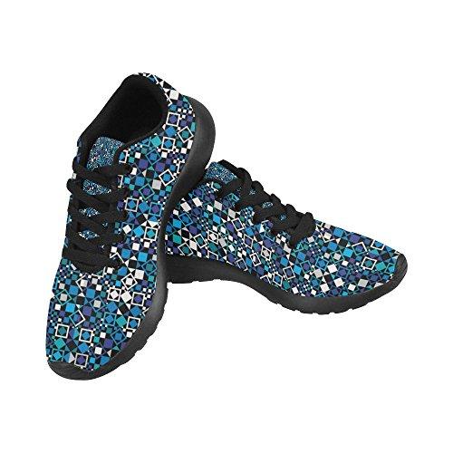 Interestprint Femmes Chaussures De Course Jogging Sport Léger Marche Sportive Sneaker Multi 5