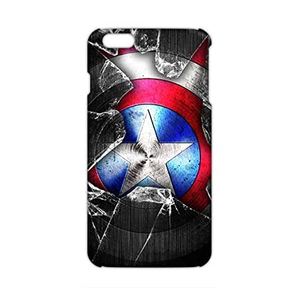 Hnmd Captain America Cos Wallpaper Icon 3d Phone Case For Iphone 6