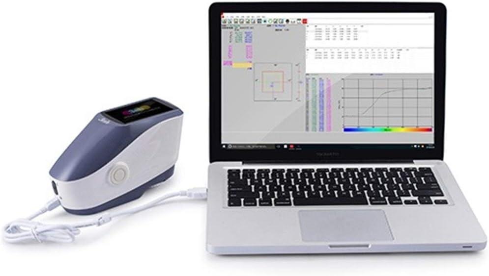 LplPol YS3010 Measurement Caliber 8mm Economic Handheld Spectrophotometer 400-700nm High Precision Intelligent Spectrophotometer