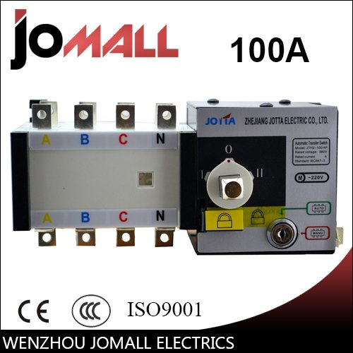 220 3 Phase (Jomall 100amp 220V/ 230V/380V/440V 4 pole 3 phase automatic transfer switch ats)