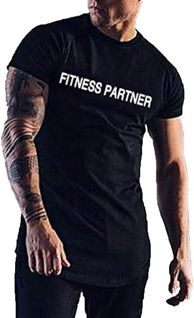 Camisetas Hombre Manga Corta La Camisa Basicas Algodon Blusa 2019 Verano Nuevo Tops Deportivas Gym Running Polo T-Shirt ZOELOVE Camiseta Slim fit fit de Manga Corta: Amazon.es: Ropa y accesorios