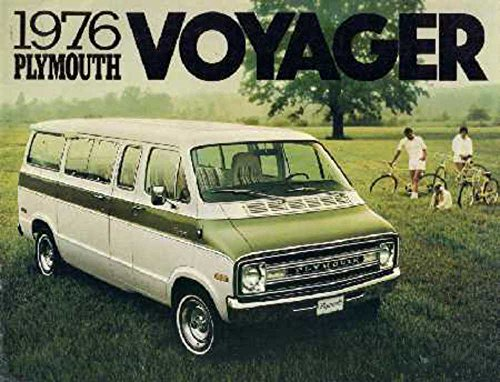 (1976 Plymouth Voyager Sales Brochure Literature Book Advertisement Specification)