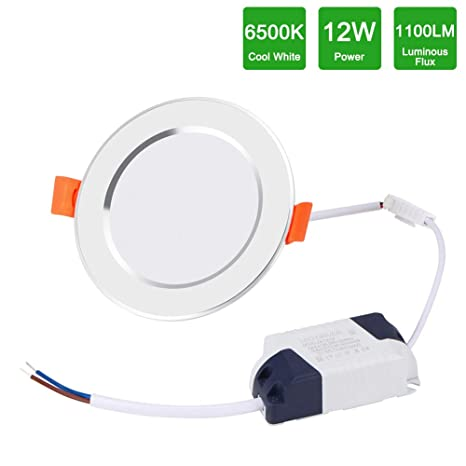 Lámpara de Techo con Sensor de Movimiento 12W, Frontoppy LED Plafón Radar de Sensor,4 modos de iluminación,Iluminación de techo de detección de ...