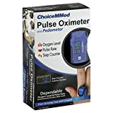 ChoiceMMed Pulse Oximeter, with Pedometer 1 oximeter