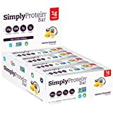 SimplyProtein Bar, Lemon Coconut, Pack of 12, Gluten Free, Non GMO, Vegan