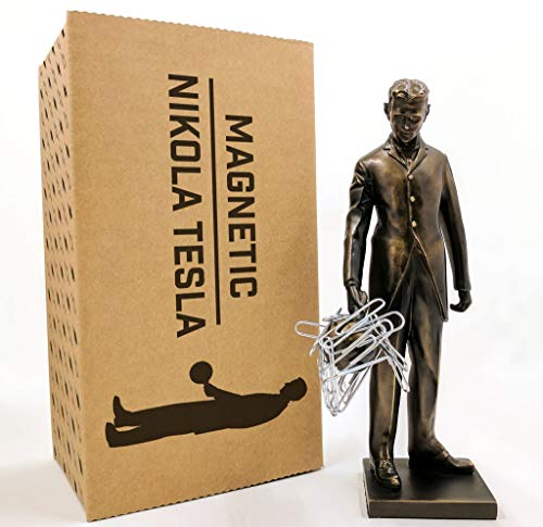 (Northern Imagination Nikola Tesla Statue Replica - 6.5
