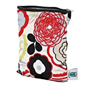 Planet Wise Wet Diaper Bag, Art Deco, Small