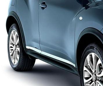 Original Nissan JUKE protectores de umbral de la puerta exterior cromado.: Amazon.es: Coche y moto
