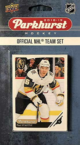 Vegas Golden Knights 2018 2019 Upper Deck PARKHURST Series Factory Sealed Team Set Including Johnny Gaudreau, Sean Monahan and James Neal Plus 7 Others
