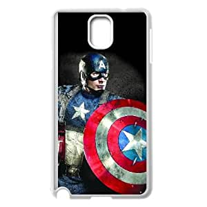 Samsung Galaxy Note 3 Cell Phone Case White Captain America 2 puls