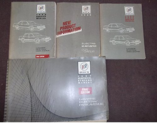 1989 Buick Lesabre Service Shop Repair Manual Set Oem Service Manual Body Service Manual New Product Information Manual And The Electrical Wiring Diagrams Manual Gm Amazon Com Books