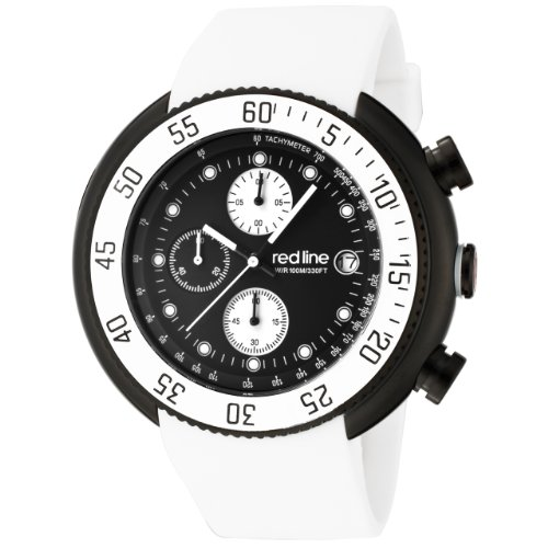 red-line-mens-50038-bb-01-wht-driver-chronograph-black-dial-white-silicone-watch