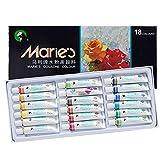 Marie's Extra Fine Gouache Set of 18 Extra Fine Gouache 12 ml Tubes