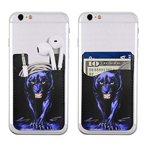 - Carolina Panther Drawing Ultra Slim Phone Pocket ID Credit Card Holder Sleeves Pouch Compatible All Smartphones