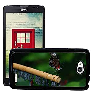 Super Stella Slim PC Hard Case Cover Skin Armor Shell Protection // M00148869 Papilio Rumanzovia Butterfly Animal // LG Optimus L90 D415