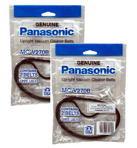V300 Type (Panasonic MC-V270B Type UB-8 Belts (2-Pack) (Total of 4 Belts))