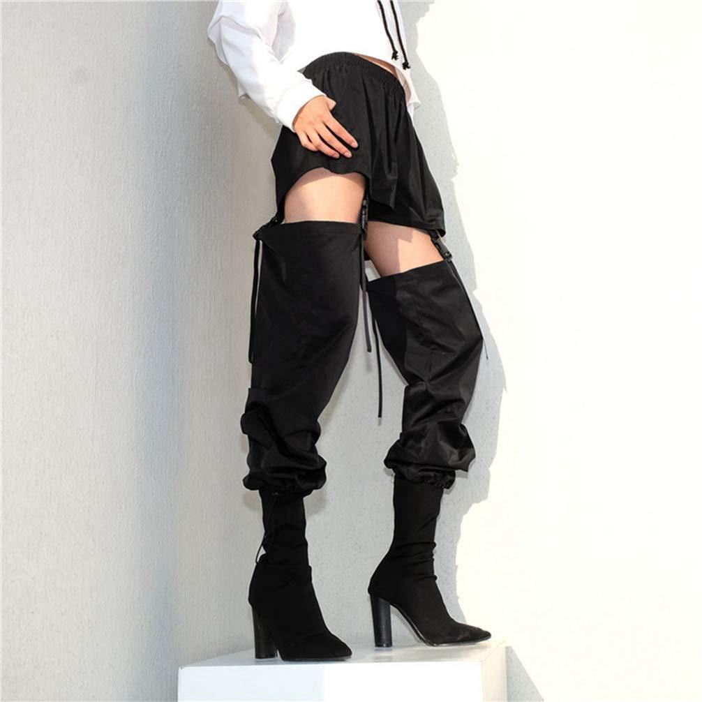 JEELINBORE Donna Chic Pantaloni Cargo Jogging Tempo Libero Danza Hip Hop Trousers Streetwear