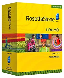Rosetta Stone Homeschool Vietnamese Level 1-3 Set including Audio Companion (1608290026) | Amazon Products