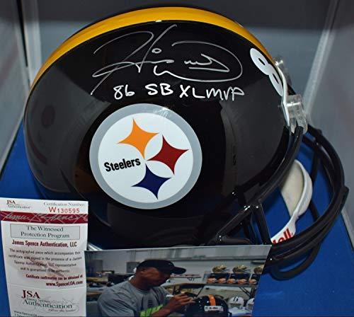 Hines Ward Autographed Signed Full Size Rep Helmet Pittsburgh Steelers Sb Xl Mvp Memorabilia JSA