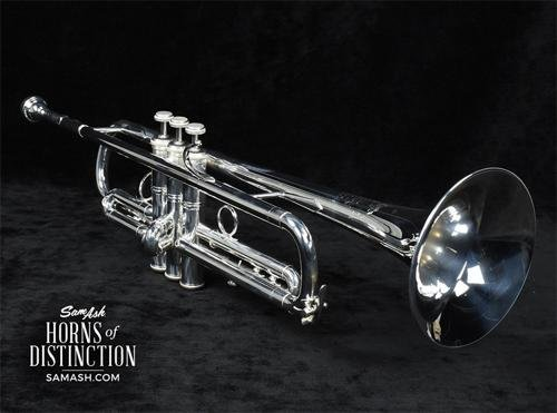 Bach LT1901B Stradivarius Commercial Series Bb Trumpet LT190S1B Silver by Bach