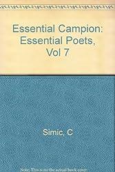 Essential Campion (Essential Poets)
