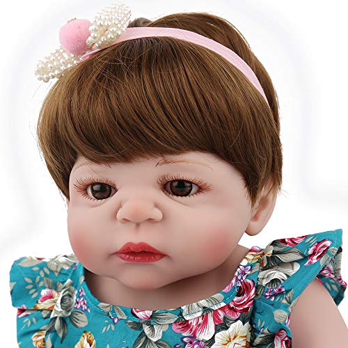 Lovewe Educational Doll,Lifelike Baby Doll 55cm New Doll Kids Girl Playmate Birthday Gift Christmas Gift by Lovewe_Christmas Decor (Image #3)