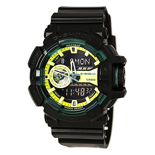 G-Shock GA-400 Sporty Illumi Series Watches - Black / One Size (Casio Ga 400 compare prices)