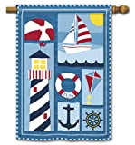 Nautical Day Summer House Flag For Sale