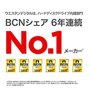 """WD Blue 6TB PC Hard Drive - 5400 RPM Class, SATA 6 Gb/s, 256 MB Cache, 3.5"""" - WD60EZAZ"""